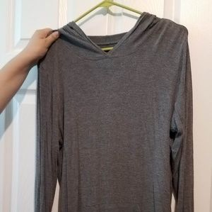 Cuddl Duds Softwear Hooded Tee